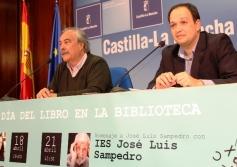 José Luis Sampedro y Gloria Fuertes, protagonistas de los actos del Día del Libro en la Biblioteca pública