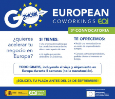 El CEEI de Guadalajara acude a una nueva edición de 'European Coworwings'