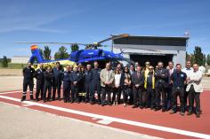 Cuatro nuevos helicópteros colocan a Castilla-La Mancha a la vanguardia de la atención de urgencias
