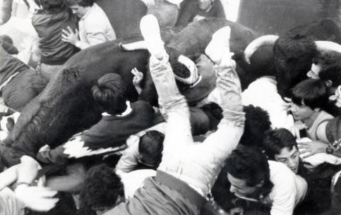 Un encierro que conmocionó a Guadalajara... El de las Ferias y Fiestas del año 1984