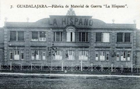 Una Fábrica que tuvo mucha historia en Guadalajara... La Hispano Suiza