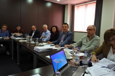 Martínez Arroyo reúne al Comité de Dirección de su Consejería en Trillo