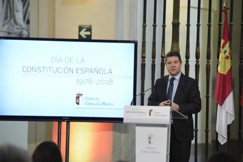 """Page: """"Castilla-La Mancha está por delante de los partidos y España por delante de Castilla-La Mancha y del resto de comunidades"""""""