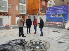Casi terminada la remodelación de la plazuela de Don Pedro