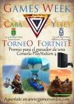 Un Torneo de Fornite enfrentará a los mejores jugadores de Cabanillas y Yebes