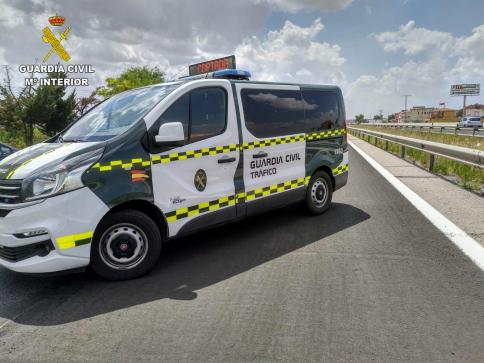 'Pillan' a un camionero en la A2 con una tasa de alcoholemia siete veces superior a la permitida