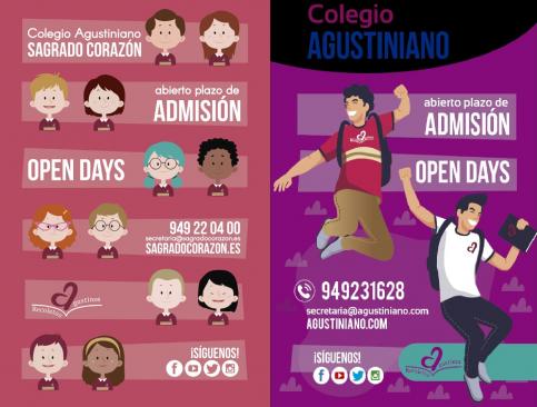 Agustinos Recoletos celebran jornadas de puertas abiertas en sus dos centros de la capital