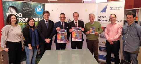 Expoastronómica'19 contará con el Parque Científico y Tecnológico y la Universidad de Alcalá