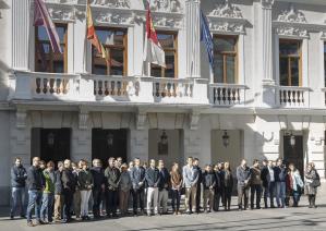 Guadalajara rinde homenaje a las víctimas del 11-M en el 15º aniversario del atentado