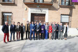García-Page celebra en Marchamalo el último Consejo de Gobierno itinerante de esta legislatura