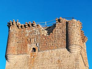 En Galve de Sorbe creen que su castillo no debe salir aún de la Lista Roja del Patrimonio