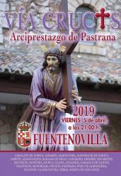 Fuentenovilla acoge el Vía Crucis interparroquial del Arciprestazgo de Pastrana