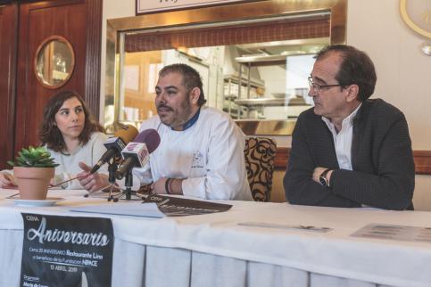 El Lino celebrará sus 20 años trayéndose a grandes chefs en una cena solidaria para Nipace