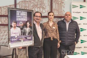 Nipace se trae a Bustamante y Demarco Flamenco al 'Concierto de Los Aromas'
