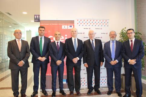 Los actos de los 10º aniversario del CEEI comienzan con una conferencia de Manuel Pizarro