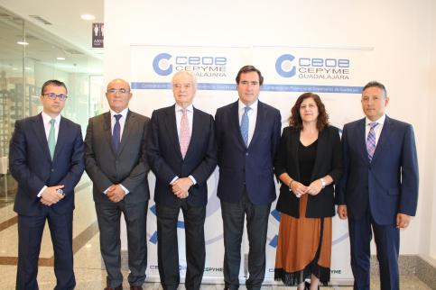 María Soledad García Oliva ya es la nueva presidenta de CEOE-Cepyme Guadalajara