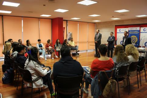 Primera jornada colectiva del programa de apoyo a emprendedores de CEOE-Cepyme