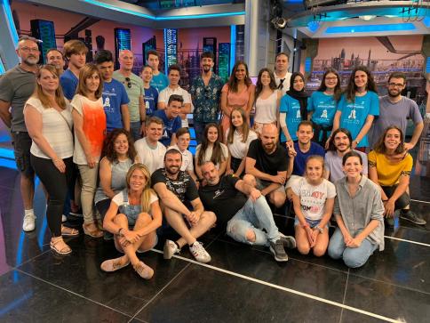 'El Hormiguero' recibe la visita de los ganadores del concurso de robótica del CEEI de Guadalajara