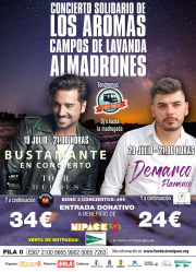 Ir en autobús desde Guadalajara hasta el 'Concierto de Los Aromas' de Nipace será gratis