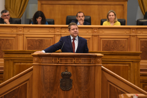"""García-Page: """"Pretendemos que dentro de cuatro años esta región esté mejor de lo que está hoy"""""""