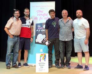 José Ignacio Moreno presentó su libro 'Tres virutas de tu alma' en Yunquera