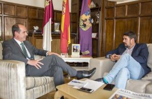 Alberto Rojo y Rafael Esteban se reúnen para hablar de cuestiones comunes entre Guadalajara y Marchamalo