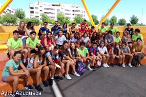 Lleno total en el campamento urbano para jóvenes de Azuqueca