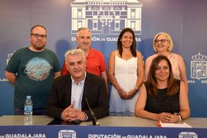 José Luis Vega explica cómo va a organizar el Gobierno en Diputación