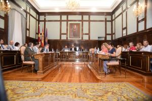 Todos los grupos políticos se ponen de acuerdo para las normas de organización y funcionamiento de Diputación