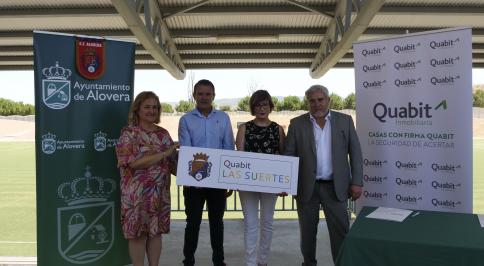 Quabit Las Suertes es el nuevo patrocinador del Club de Fútbol de Alovera