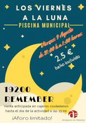Música 'remember' para despedirse del programa 'Viernes a la luna' en Azuqueca