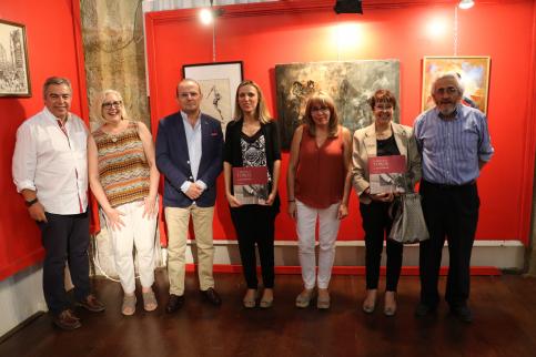 Javier Sanz presentó su libro 'V Siglos de Toros en Sigüenza'