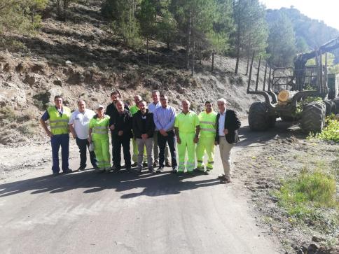 Un millón de euros de Diputación para seguir mejorando carreteras en el Señorío de Molina
