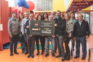El VI Vermú Solidario del Strómboli dejó 25.000 euros para Nipace