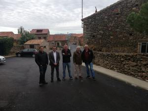 Diputación invierte 700.000 euros en mejorar las carreteras del entorno de Atienza y el Alto Rey