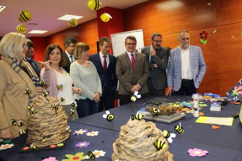 La Junta muestra su apoyo a los futuros científicos de la provincia