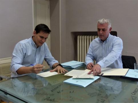 Diputación invierte 36.500 euros en subvenciones y 90.000 en becas para la promoción del deporte