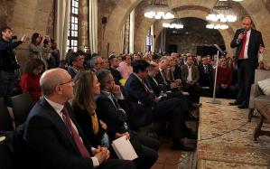 Martínez Guijarro acude en Sigüenza al Congreso 'Despoblación: un reto político (y poético)'