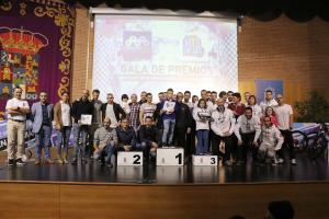 El Circuito MTB de Diputación entregó los premios de su octava temporada