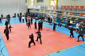 Más de 120 deportistas participan en Azuqueca en el XXIV Campeonato de España de Kung Fu
