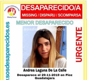 Buscan a una joven de 15 años desaparecida en Pioz