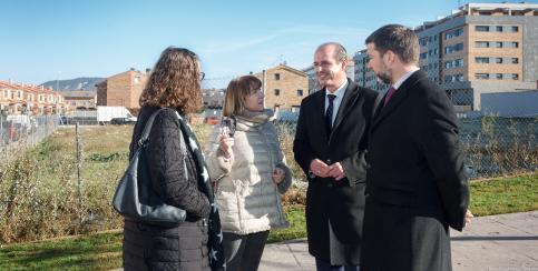 El Ayuntamiento cede a la Junta la parcela para un nuevo centro de salud en Los Valles