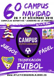 El Atlético Guadalajara abre las inscripciones para su VI Campus de Navidad