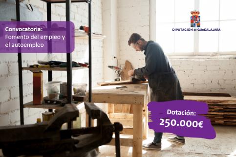 Nuevas ayudas de Diputación para el empleo y el autoempleo en pueblos pequeños