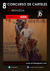Ofrecen 400 euros para el que diseñe el mejor cartel anunciador del encierro de Brihuega