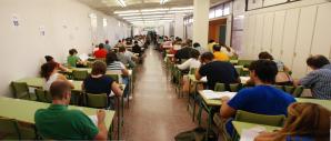 Los alumnos de la UNED de Guadalajara se preparan para sus exámenes