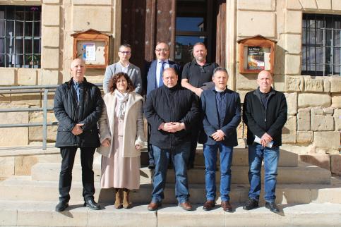 CEOE-Cepyme Guadalajara reúne a su Comité de Dirección en Molina de Aragón