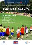 Más de 650 atletas en edad escolar correrán en el Campeonato Regional de Campo a Través en Valdeluz
