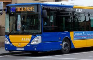 Bajan un 85% los viajeros del autobús urbano debido a la cuarentena