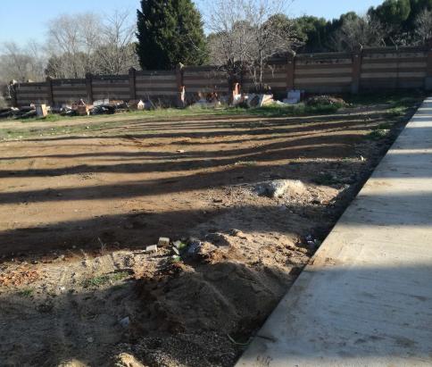 El incremento de la demanda obliga a construir nuevas sepulturas en el cementerio de la capital